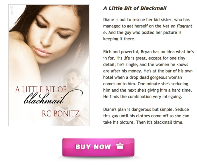 A Little Bit of Blackmail by RC Bonitz